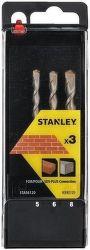Stanley STA56012 SDS+ sada vrtáků 3ks