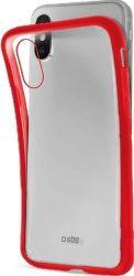 SBS silikonové pouzdro pro Apple iPhone Xs Max, červená