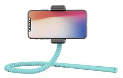 Zbam GEKKOSTICK flexibilní selfie tyč, tyrkysová