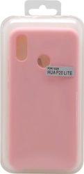 Mobilnet silikonové pouzdro pro Huawei P20 Lite, růžová