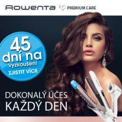 45 dní záruka vrácení peněz na produkty péče o tělo Rowenta