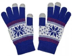 Aligator Nordic dámské rukavice na displej, modré