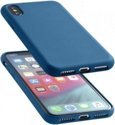 Cellularline Sensation pouzdro pro Apple iPhone Xs Max, modrá