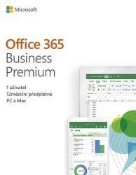 Microsoft Office 365 Business Premium CZ (1rok)
