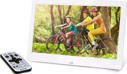 Sencor SDF 1061 WE digitální fotorámeček, bílá