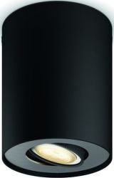Philips Hue Pillar čierna spot ext. 56330/30/P8