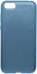 Mobilnet Crystal silikonové pouzdro pro Huawei Y5 2018, modré