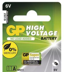 GP 11A 6V - 1ks alkalické baterie