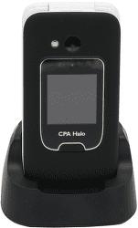 Mobilní telefon CPA Halo 15 černý s nabíjecím stojánkem