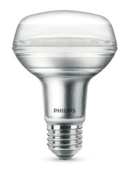 Philips LED 4W(60W) R80 E27 WW 36D ND