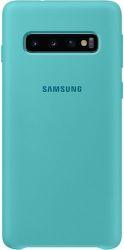 Samsung silikonové pouzdro pro Samsung Galaxy S10+, zelená