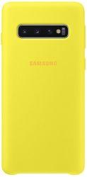 Samsung silikonové pouzdro pro Samsung Galaxy S10+, žlutá