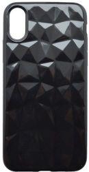 Mobilnet silikonové pouzdro Geometric pro Apple iPhone X/Xs, černá