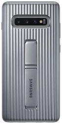 Samsung Protective Standing Cover pro Samsung Galaxy S10+, stříbrná