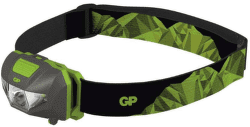 GP CH32 + 3× LR03, LED čelovka