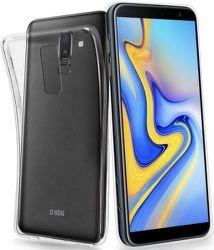 SBS Skinny silikonové pouzdro pro Samsung Galaxy J6+, transparentní