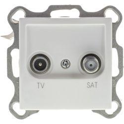 RETLUX RSB A36 AMY, TV + SAT zásuvka