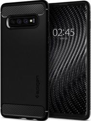 Spigen Rugged Armor pouzdro pro Samsung Galaxy S10, černá
