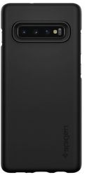 Spigen Thin Fit pouzdro pro Samsung Galaxy S10+, černá