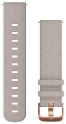 Garmin Quick Release 20mm semišový řemínek šedý
