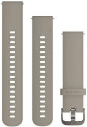 Garmin Quick Release 20mm silikonový řemínek hnědý