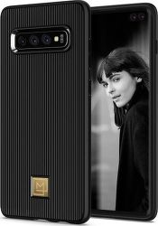 Spigen La Manon Classy pouzdro pro Samsung Galaxy S10+, černá