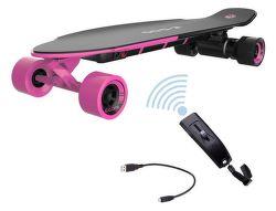 YUNEEC E-GO2, E-Longboard, růžový