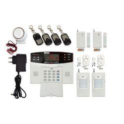 ECOPLANET HF-GSM03 GSM alarm s LCD 4x DO, 2x PIR, 2x DOOR, 1x siréna