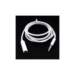 Mobilnet prodlužovací kabel 3.5mm jack (bílý)
