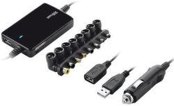 Trust Ultraslim 70W Notebook Adapter for car 18065 - univerzální autoadaptér