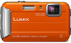 Panasonic Lumix DMC-FT30EP-D oranžový