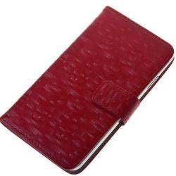 Aligator pouzdro Book Glammy vel. XL (červený)