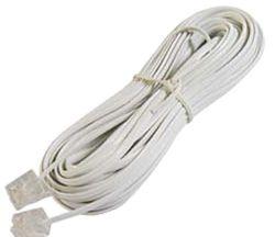 Smarton kabel tel. prodlužovací, 20m (bílý)