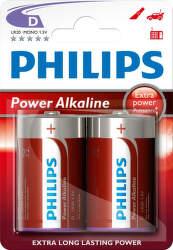 Philips Power Alkaline D (LR20) 2ks