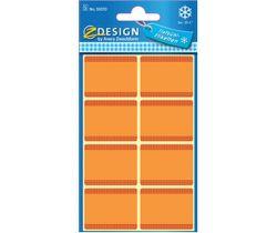 Avery Samolepicí etikety do mrazáku (oranžové)
