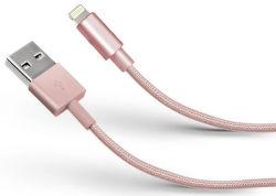 SBS Lightning kabel 1m, růžová