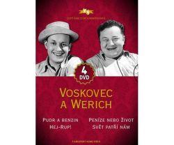 Voskovec a Werich kolekce - 4xDVD film