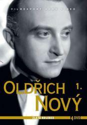 Oldřich Nový 1. - 4xDVD film