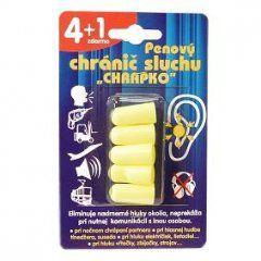 Interpharm Chrapko pěnový chránič sluchu (4 + 1ks)
