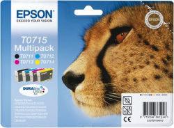 Epson T0715 color (gepard) - inkoustová náplň