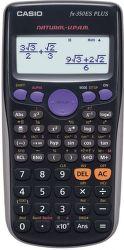 Casio FX 350 ES Plus (černá) - školní desetimístná kalkulačka