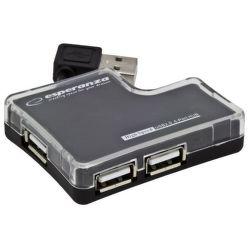 Esperanza EA124 - USB 2.0 HUB, 4 porty