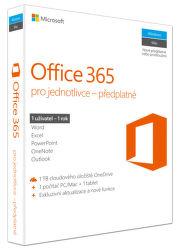 Microsoft Office 365 pro jednotlivce - 1 uživatel