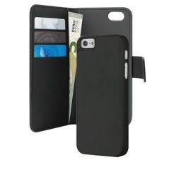 Puro flip pouzdro a zadní kryt iPhone SE/5/5s (černé)