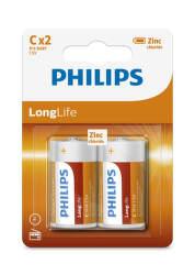 Philips LongLife (R14) mono C 2ks