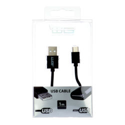 Winner datový kabel USB - USB-C, 1m (černý)