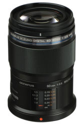 Olympus M.ZUIKO ED 60mm f/2,8 Macro černý