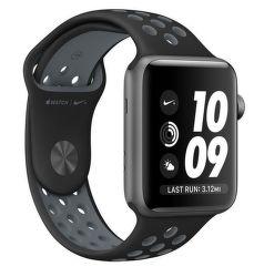 Apple Watch Nike+ 38mm vesmírně šedý hliník s černým Nike chladně šedým sportovním řemínkem