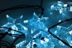Solight 1V30-B - LED řetěz, hvězdy, 20xLED (modré světlo), 3m