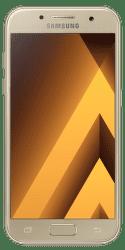 Samsung Galaxy A3 2017 zlatý